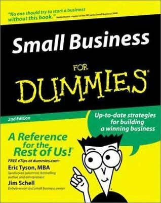 Small Business for Dummies? by Eric Tyson; Jim Schell