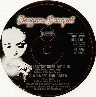 FREEEZ - Pop Goes My Love - Beggars Banquet