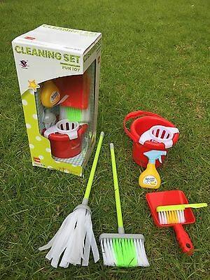 New Modern Design Children's Cleaning Set! Little Helper House Fun Gift Toy 3+