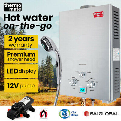 【UP TO 20%OFF】Thermomate Outdoor Water Heater Gas Camping Hot Portable