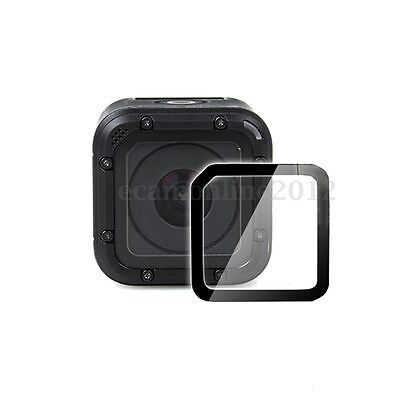 Transparent Tempered Glass Lens + Screen Protector Film For Gopro Hero 4 Session