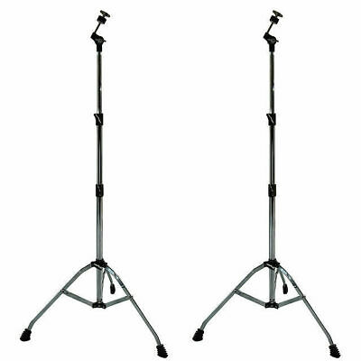 2 X Cymbal Stand Straight Heavy Duty Suits Crach China Splash Ride DP Drums C3L