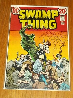 Swamp Thing #5 Fn- (5.5) Dc Comics August 1973 Wrightson*