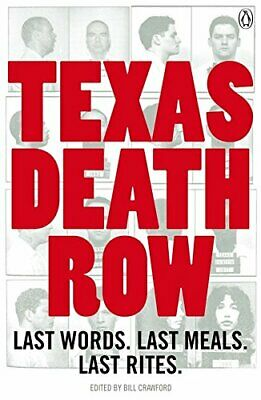 Texas Death Row Paperback Book The Cheap Fast Free Post
