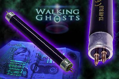 2x UV Ultraviolet Tube Replacement T5 4W Black Light Ghost Hunting Paranormal UK
