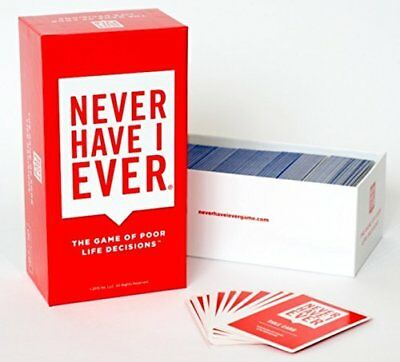 Never Have I Ever, The Card Game of Poor Life Decisions UK New
