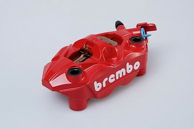 Suzuki Hayabusa Brembo 108mm Monoblock front brake calipers in red, pair of