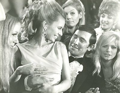 George Lazenby James Bond On Her Majesty's  Secret Service 1969 Photo Original 4