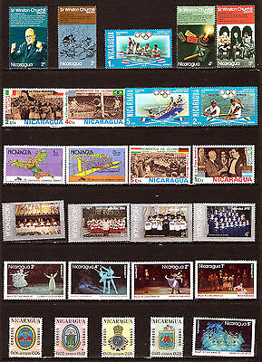 NICARAGUA timbres neufs:usages courants, sujets divers  332T6