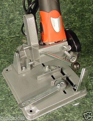 """UNIVERSAL Electric Angle Grinder STAND New 4-1/2"""" Chop Saw Holder Angle Vise"""