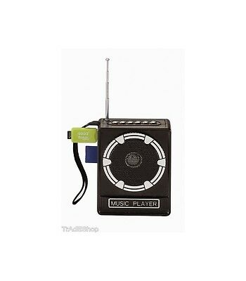 Cassa Radio FM USB SD Jack Aux MP3 speaker radio