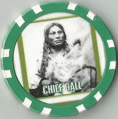 Chief Gall   Collector  Chip War Chief Of The Lakota