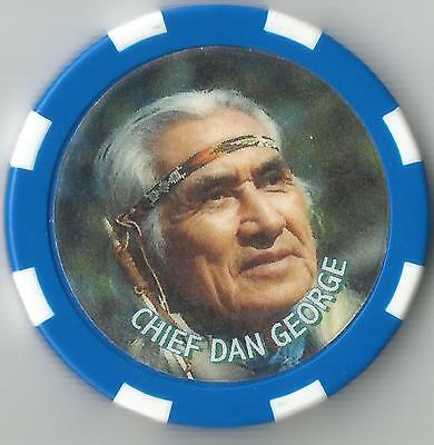 Chief Dan George   Collector  Chip Chief Of Tsleil Waututh