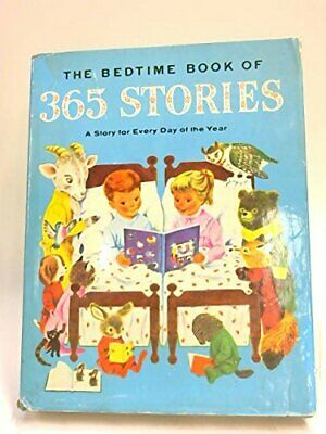 The Bedtime Book of 365 Stories Hardback Book The Cheap Fast Free Post