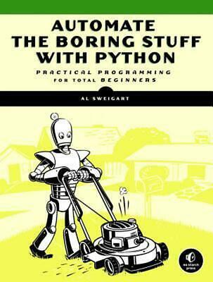 Automate the Boring Stuff With Python by Al Sweigart (English) Paperback Book Fr