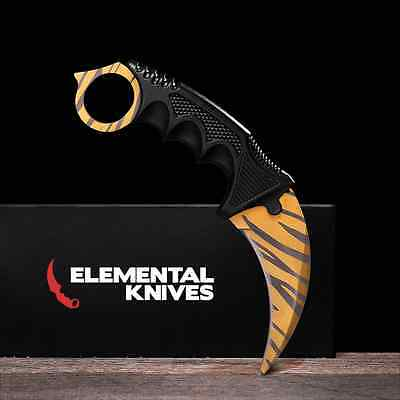 Elemental Knives Tiger Tooth Real CSGO Knife Skin Counter Strike CS GO