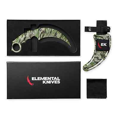 Elemental Knives Boreal Forest Real CSGO Knife Skin Counter Strike CS GO