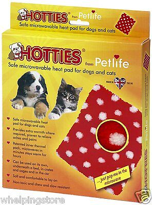 Microwave Whelping Heat Pad Puppy Dog 100% safe to use stays warm for hours