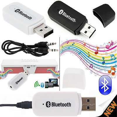 3.5mm USB Bluetooth Audio Receiver AUX Dongle Wireless Music Adaptor A2DP iPhone