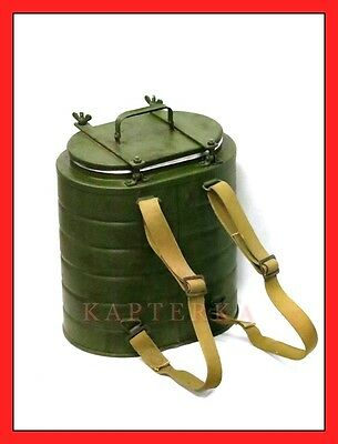☆ original russian army insulated field food carrier  ☆