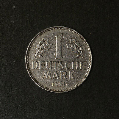 1961 - G Germany Federal 1 Mark KM 110 Great Deals From The TECC Bargain Bin