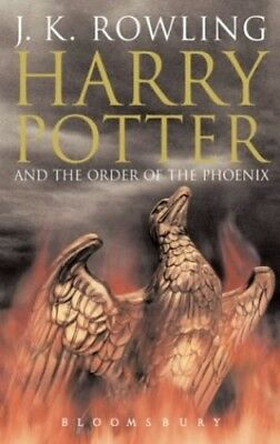 Harry Potter and the Order of the Phoenix (Book 5) [Ad..., J.K. Rowling Hardback