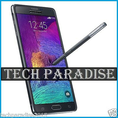 Stylet Stylus Spen pour for Samsung Galaxy Note 4 SM N910 N9100 Noir Black