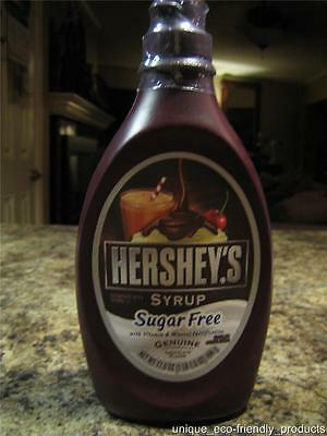 Hershey's SUGAR FREE chocolate syrup 17.5 oz Great for DIABETICS LOW CARBS