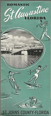 Vintage Brochure for St. Augustine Florida