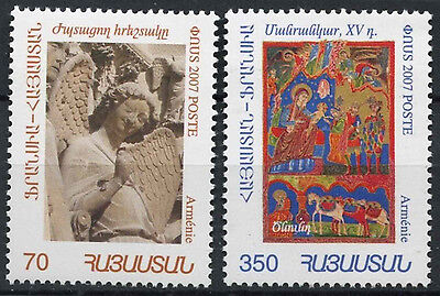 Armenia 2007 Year In France MNH Set #D2407