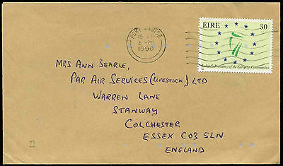 Ireland 1990 Commercial Cover To England #C30925