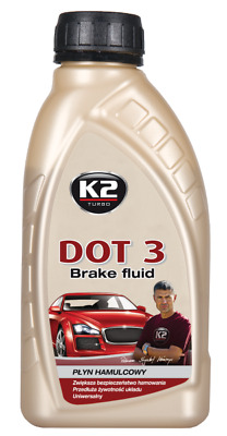 K2 | DOT 3 Brake And Clutch Fluid 0.5kg (approx 0.5l)