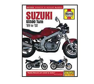 Suzuki GS500E 1989-2006 Haynes Workshop Service Manual