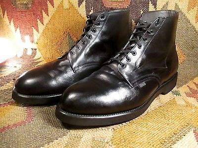 Vintage Work America USPS Black Leather Chukka Boots size14 3E Union made in USA