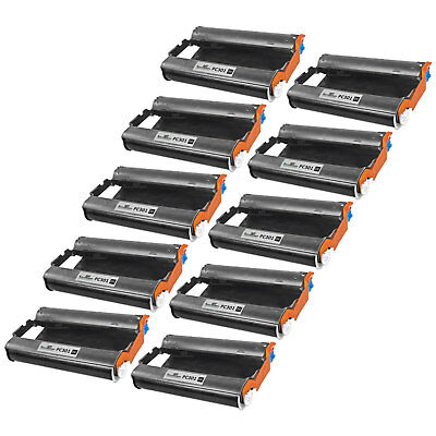 10pk Brother PC301 Compatible Fax Cartridge with Roll