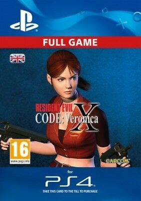 Resident Evil Code : Veronica X DLC Full Game PS4 - SAME DAY DISPATCH
