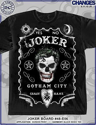db3e3fa026f4d ... Batman Joker Ouija Board Crazy Dc Comics Superhero Heroes Black T Shirt  S-3Xl 3