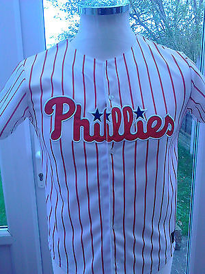 Philadelphia Phillies Baseball Jersey   size  12/13 years