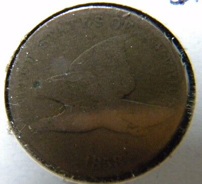 1858 Flying Eagle Cent***very Good Condition                 Bb