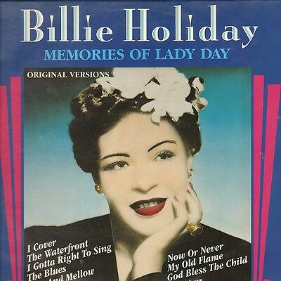 BILLIE HOLIDAY - Memories Of Lady Day - Companion LP Den – 6187191