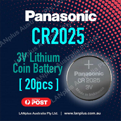 20 x CR2025 3V Lithium Battery STOCK IN Melbourne Button Coin Cell 4 Alarm Key