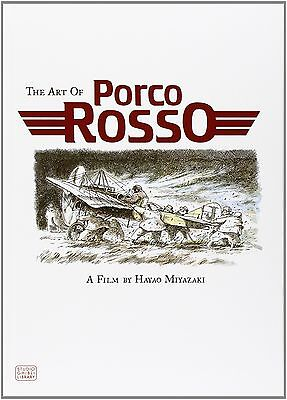 The Art Of Porco Rosso Studio Ghibli Library by Hayao Miyazaki background art HB