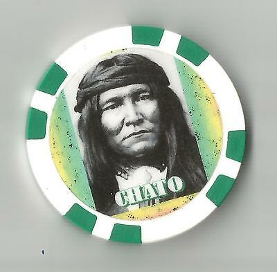 Chato Subchief Chiricahua Apache   Collector  Chip