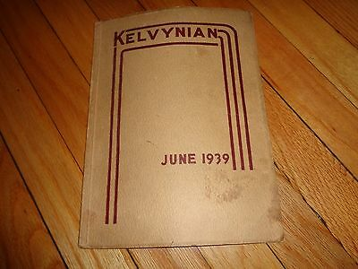 June 1939 Kelvyn Park High School Yearbook Chicago