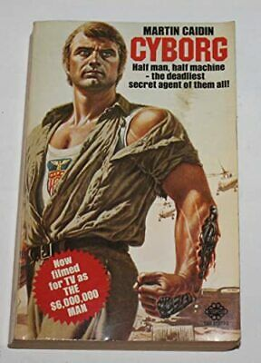 Cyborg, Caidin, Martin Paperback Book The Cheap Fast Free Post