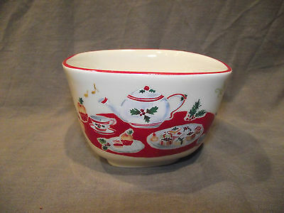 Lenox Holiday Inspirations and Illustrations Nut Bowl