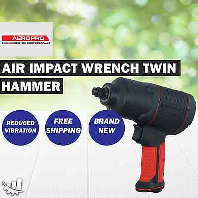 "Aeropro 1/2"" Air Impact Wrench Twin Hammer - Sip07212"