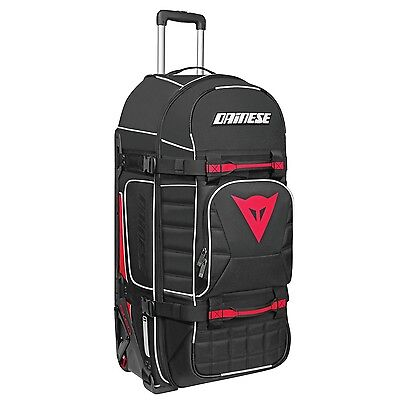 Dainese D-Rig Wheeled Gear Bag Motorcycle Stealth Black Red SLED Ogio 9800 Dirt