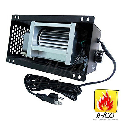 Variable S31105 Blower Fan for GHP Group Plate Steel Wood Stoves Fireplaces