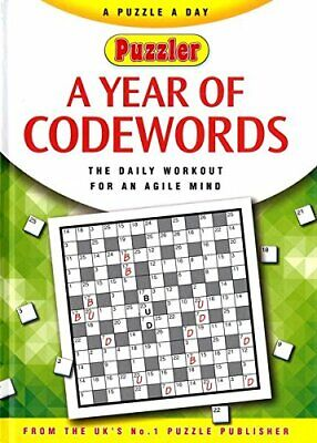 A Year Of Codewords Book The Cheap Fast Free Post
